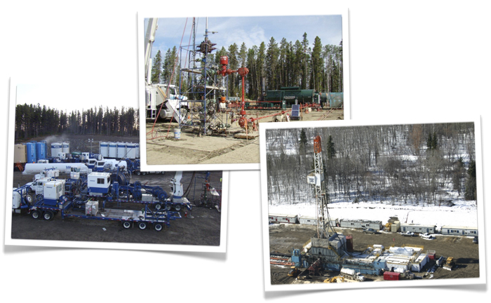 Photos of Oilfield Projects